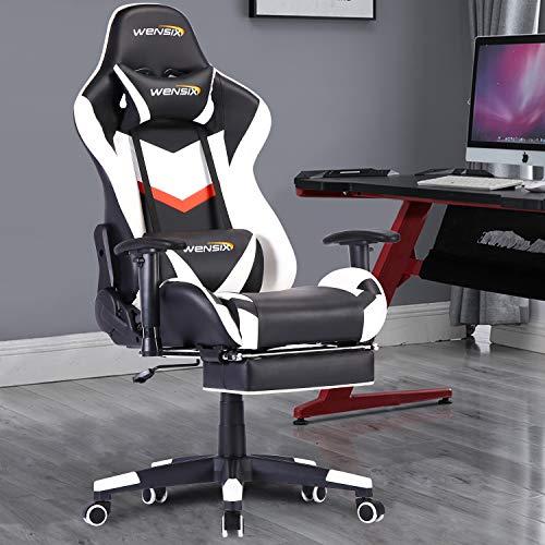 WENSIX Ergonomischer Gaming-Stuhl PC Bild 4*