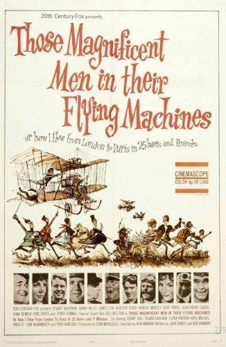 Posters Die tollkühnen Männer in ihren fliegenden Kisten Film Mini-Poster 28 cm x43cm 11inx17in