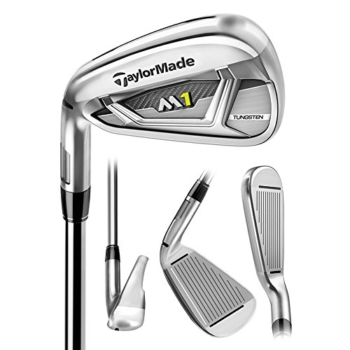 Taylor Made Men's M1 Irons Approach Wedge Tt Xp 95 Steel Stiff Left
