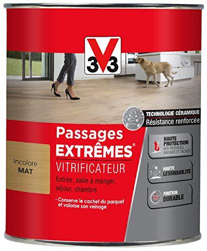 V33 Vitrificateur passages extrêmes®, Incolore Mat, 0,75 L