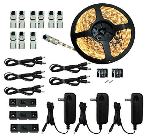 Cut and Connect Series Kit Super Bright Warm White 12M 39 Ft Kit...