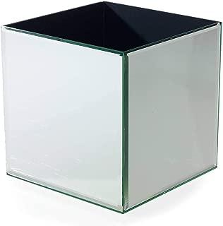 Richland Mirror Cube Riser 8 Inch Square Vase