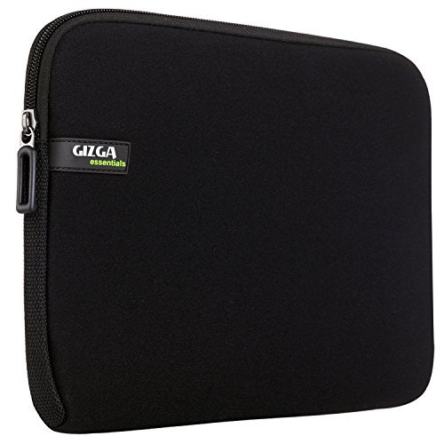 Gizga Essentials 15-Inch to 15.6-Inch Laptop Sleeve (Black)
