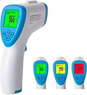 1 PCS Decdeal Electronic Thermometer Accurate LED Screen Display Thermometer Quick-Read Hygienic Digital Thermometer for Home Babies Children Adults Rectal or Underarm