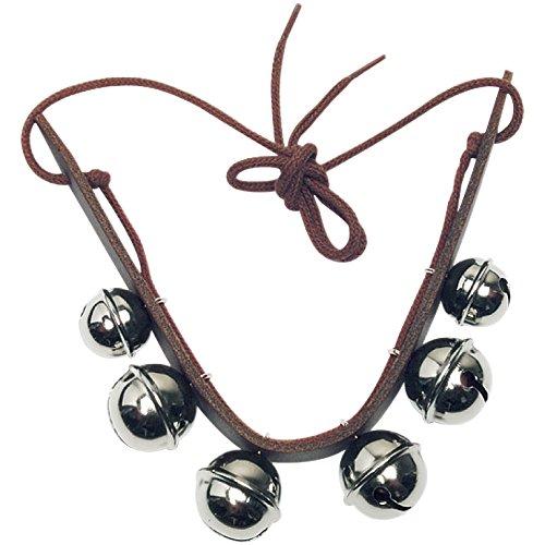 ROHEMA Glockenband Leder mit 6 bells