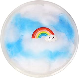 F_Gotal Squishies Slow Rising Jumbo Flaky Clouds Mud Mixing Cloud Slime Kawaii Squishy Toys Cream Scented Stress Relief Squeeze Toys for Kids Adult Gifts