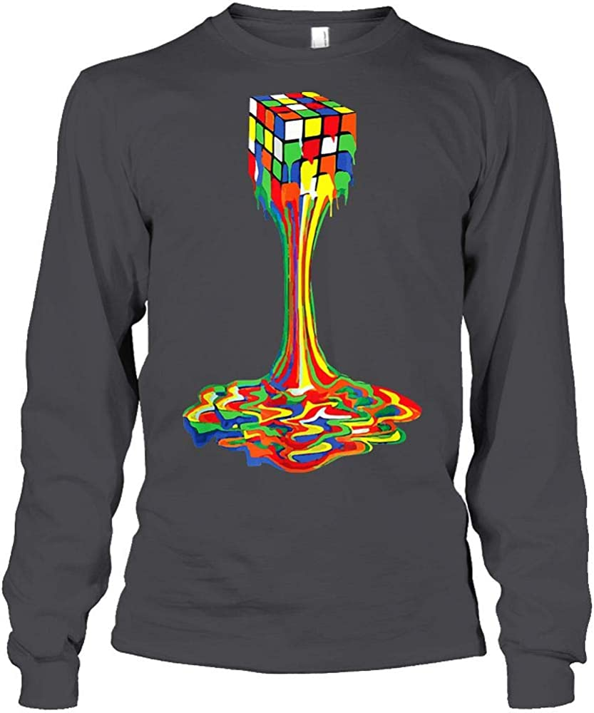 Funny Melting Rubik Rubix Rubics Player Cube Melt Indianapolis Mall Tie Lovers Dye Credence