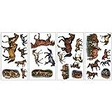 RoomMates - Wandsticker Wildpferde 24 Stück - 4