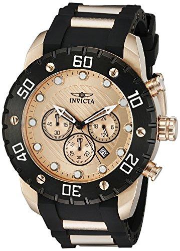 Invicta Men's 20281 Pro Diver Analog Display Japanese Quartz Two Tone Watch