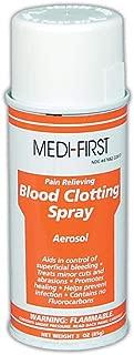 Medique MP226-17 Medi-First Pain Relief Blood Clotting Spray, White/Orange, 3 oz.