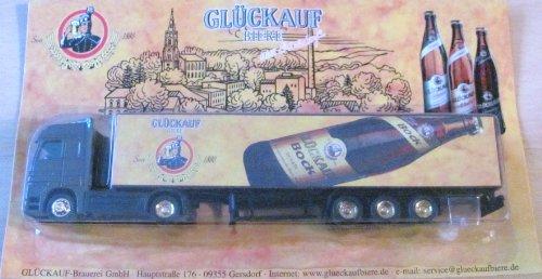 Glückauf Brauerei Gersdorf Nr.25 - Bock Bier - MB Actros - Sattelzug
