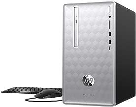 2019 HP Pavilion 590 Desktop Computer/ 8th Gen Intel Hexa-Core i5-8400 up to 4.0GHz/ 16GB DDR4 RAM/ 1TB SSD/DVDRW/GeForce GTX 1050 2GB/ AC WiFi/Bluetooth 4.2/ USB 3.1/ Windows 10 Home