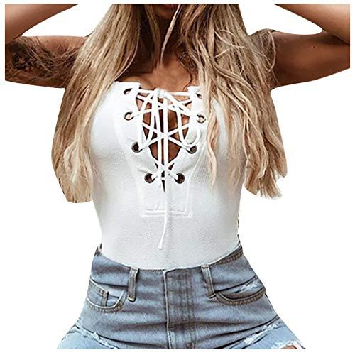 ELECTRI Femmes Sexy Camisole Baggy Vest Fitness Yoga Sport Vêtements Blouse sans Manches Mesdames Débardeurs décontractés Tops Gilet T-Shirt Chemisier Cami Soutien-Gorge D'Été