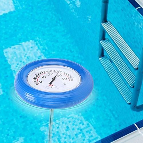NITRIP Pool-Temperaturmesser Temperaturtest-Messgerät Schwimmendes Thermometer, wasserdichtes Spa-Thermometer, Fischteich für das Außenaquarium des Schwimmbades