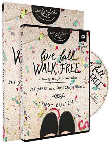 Live Full Walk Free with DVD: Set Apart in a Sin-Soaked World (InScribed Collection)