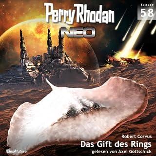 Das Gift des Rings     Perry Rhodan NEO 58              Autor:                                                                                                                                 Robert Corvus                               Sprecher:                                                                                                                                 Axel Gottschick                      Spieldauer: 5 Std. und 59 Min.     19 Bewertungen     Gesamt 4,3