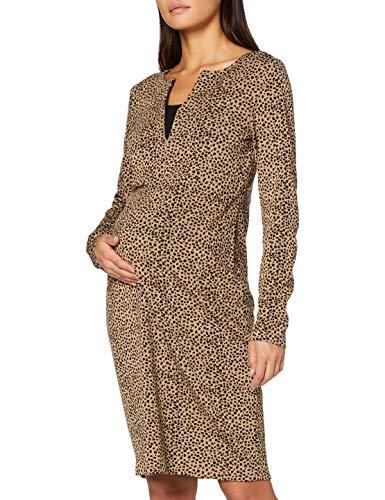 Noppies Studio Dress nurs LS Seville Vestito, Indian Tan-P636, XXL Donna