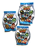 Yokai Watch S1. Pack de 3 sobres. Serie 1