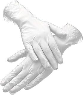 FAUCONNERIE Gants hommes blanc brodé pour Plus protection double paroi
