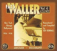 The Complete Recorded Works 1936-38, Vol. 4 by Fats Waller (2008-02-19)