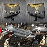 YuLi-Alforjas Silla de montar de cuero PU bolso de la motocicleta, for Harley Sportster XL1200 XL883 motocicleta universal alforja, Alta calidad y durabilidad (Color Name : Right)