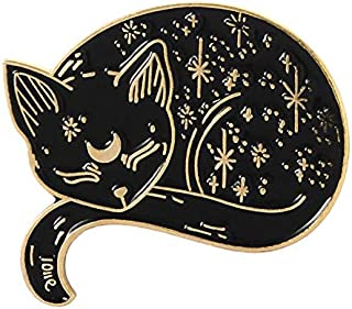 Mystical cat gatto mistico enamel pin spilla