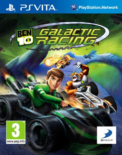 Ben 10: Galactic Racing (PlayStation Vita) [Edizione: Regno Unito]