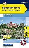 K&F Deutschland Outdoorkarte 49 Spessart Nord 1 : 35 000: Bad Orb - Steinau - Burgsinn (Kümmerly+Frey Outdoorkarten Deutschland)
