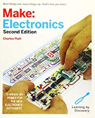 Image of Make: Electronics   2nd. Brand catalog list of Make Community LLC.