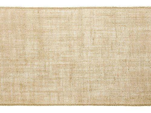 Tafelloper, tafelband, jute, vintage, rustiek 0,28 x 5 m op de rol