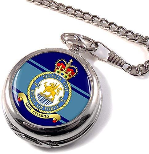 Numéro 367 Signaux Unité Royal Air Force (RAF) Poche Montre
