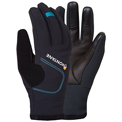Montane Windjammer Womens Gloves Small Black