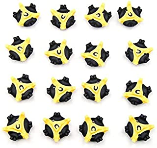 Spike Cleats 16pcs Golf Cleats Shoes Spikes Stinger Metal Thread Screw Studs