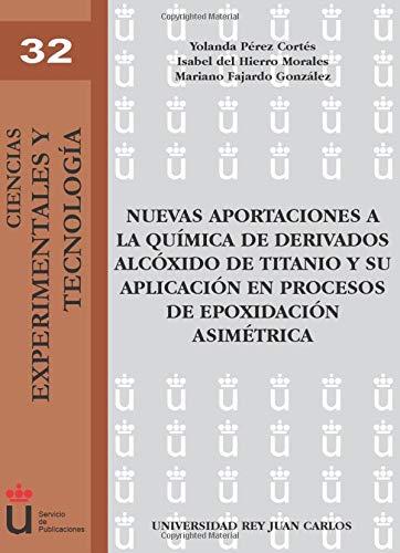 Nuevas Aportaciones A La Química De Derivados Alcóxido De