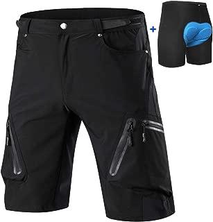 Cycorld Mountain-Bike-Shorts-MTB-Cycling-Short for Mens Removable Padded Liner