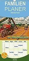 Ein Abenteuer per Motorrad - DIE TRANSAMAZONICA - Familienplaner hoch (Wandkalender 2022 , 21 cm x 45 cm, hoch): Amazonien - das ultimative Motorradabenteuer ! (Monatskalender, 14 Seiten )