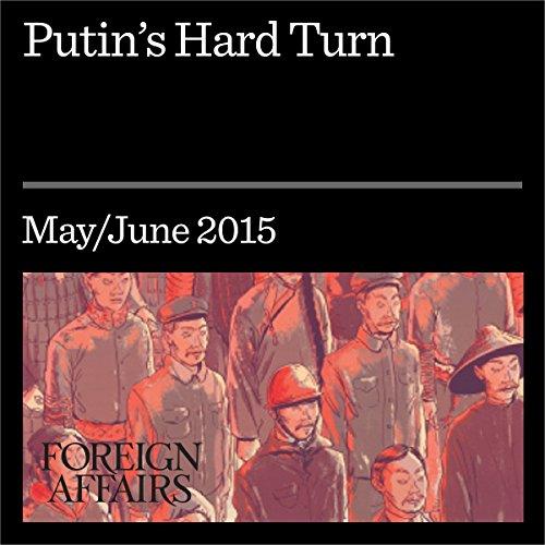 Putin's Hard Turn audiobook cover art