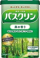 【医薬部外品】バスクリン入浴剤 森の香り600g入浴剤(約30回分) 疲労回復×6個