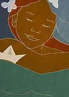 igsticker ポスター ウォールステッカー シール式ステッカー 飾り 1030×1456㎜ B0 写真 フォト 壁 インテリア おしゃれ 剥がせる wall sticker poster 006873 ユニーク 人物 イラスト