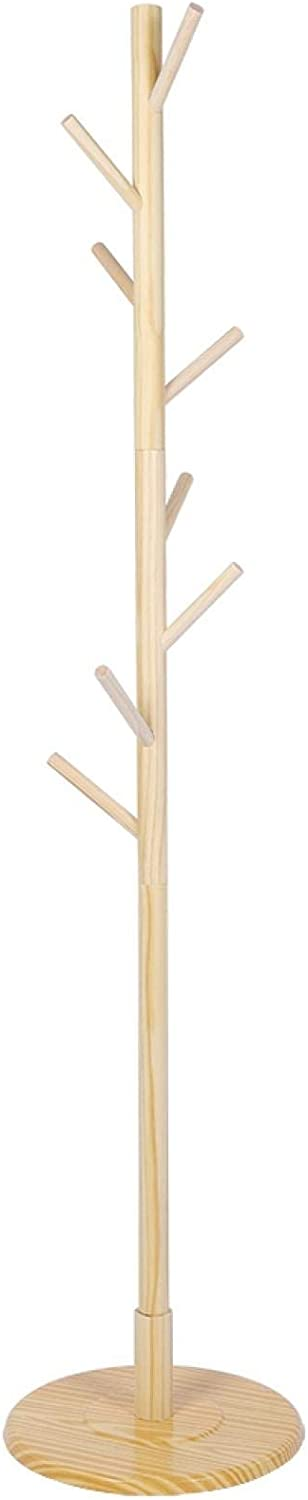 At the price of surprise EVTSCAN Coat Rack Tree Washington Mall with Free Vintage Standing Hooks Wooden