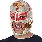 Atosa-34946 Máscara Luchador Enmascarado Mexicano, color blanco (34946)