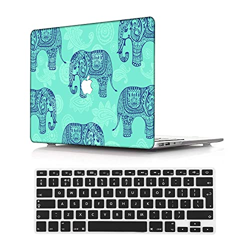 NEWCENT New MacBook Pro 13' Case,Plastic Ultra Slim Light Hard Case UK Keyboard Cover for Mac Pro 13 with/Without Touch Bar 2019 2018 2017 2016 Release(Model:A2159/A1989/A1706/A1708),National 83