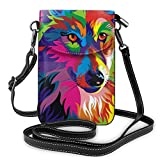 huili Women Girls Bolso bandolera pequeño para teléfono Colorful Mini Cell Phone Pouch Shoulder Bag Cell Phone Purse Wallet for Family and Friends