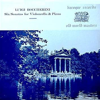 Six Sonatas for Violoncello & Piano