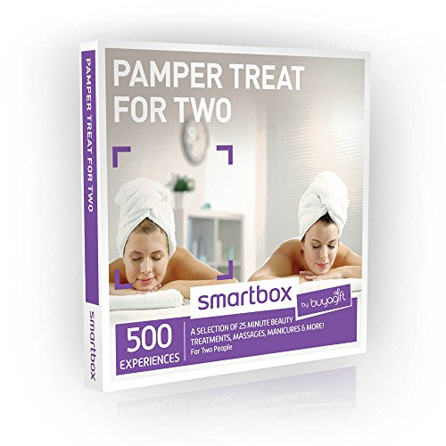 Buyagift Pamper Treat for Two Gift Experiences - 500 beauty and relaxation experiences for two, at multiple UK locations