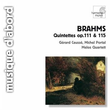 Brahms: Chamber Quintets, Op.111 & 115