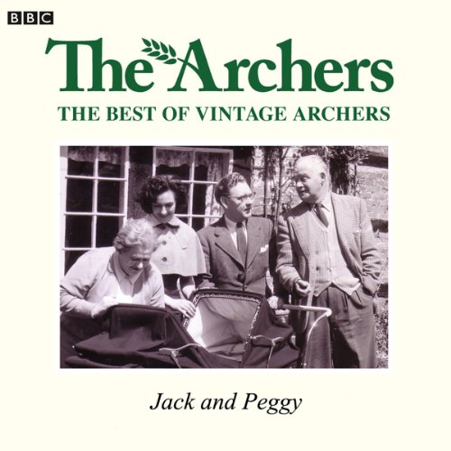 Vintage Archers: Jack and Peggy audiobook cover art