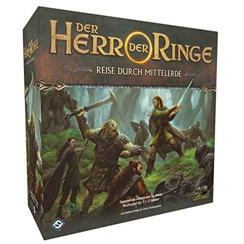 Fantasy Flight Games FFGD0168 - Der Herr der Ringe: Reise durch Mittelerde, bunt