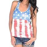 Rawdah - Camiseta - para mujer multicolor Multicolor 34