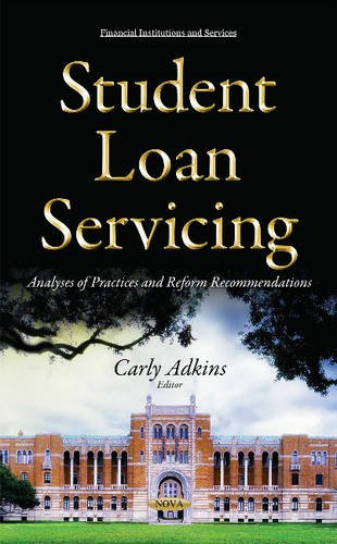 Student Loan Servicing Financial Institutions And Services